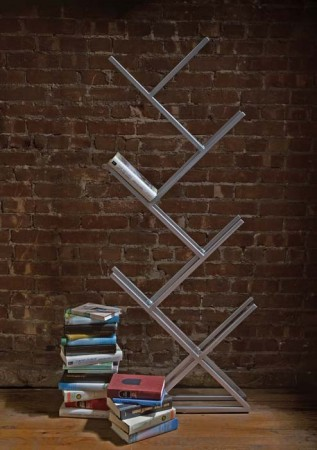 дизайн стального книжного шкафа фото
