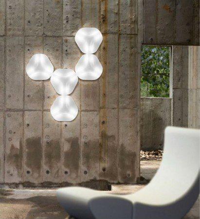 Шестигранный настенный бра от дизайнера Карим Рашид