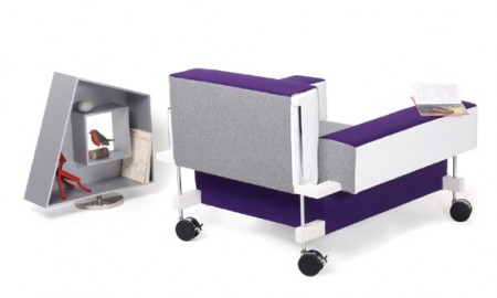 Современные декоративные настенные коробки - «Корнелл» от компании Tecta