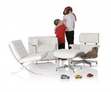 Стильный столы и стулья для детей