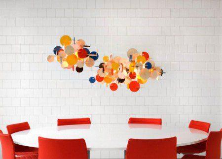 Творческие потолочные светильники, изготовленные из фанеры