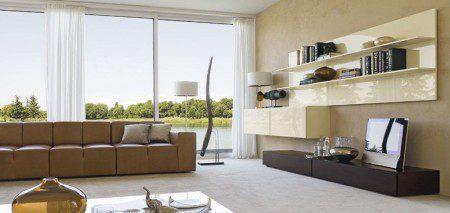 интерьер гостиной современный