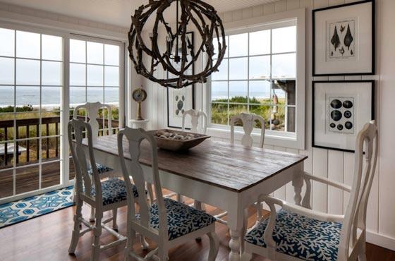 Красивый интерьер столовой