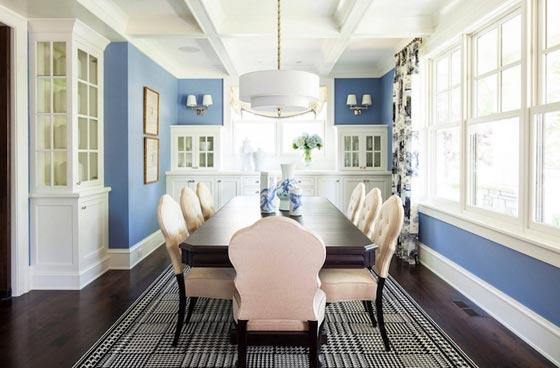 Интерьер столовой комнаты