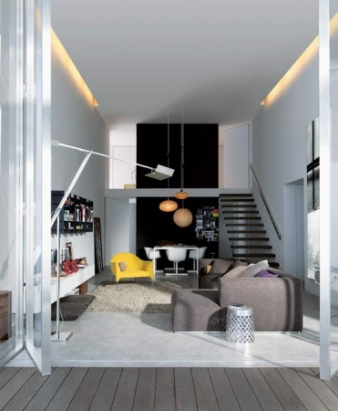 Модный интерьер для городских апартаментов