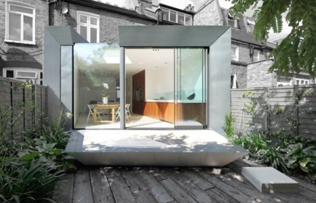 Современный дом с интересным дизайном
