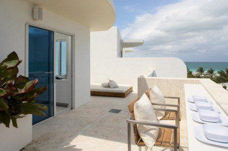 Современный пляжный домик