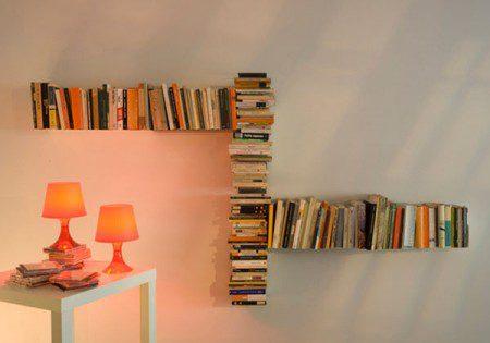 Удобная полка для книг