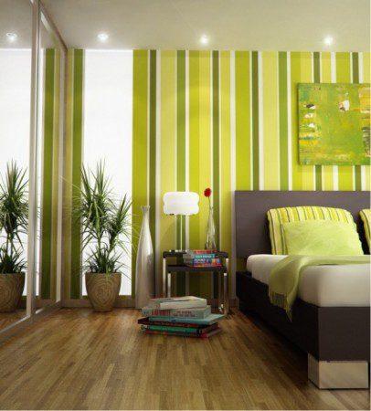 Как внедрить зеленый цвет в интерьер