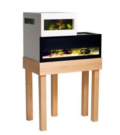 Двухуровневый аквариум