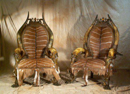 Экзотическая мебель от Haillard's