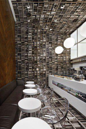 Кафе в виде библиотеки