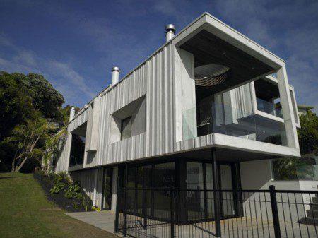 Современный дом с удивительным интерьером