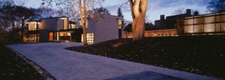 Современный и стильный дом
