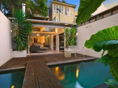 Тропический домик