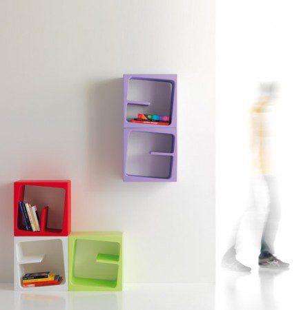 Веселые книжные шкафчика