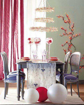 Идеи по оформлению рождественского стола