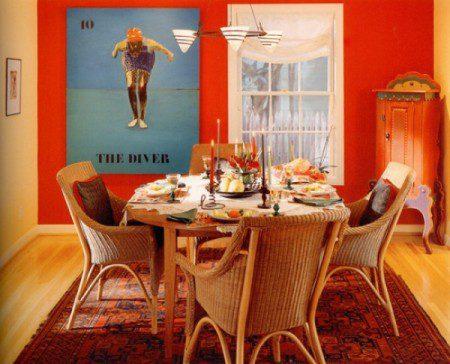 Как выбрать идеальный ковер для столовой