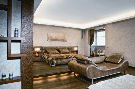 Модные апартаменты с африканскими элементами декора