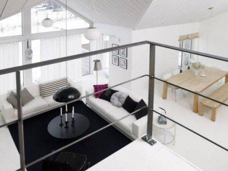 Прекрасный дом с датским интерьером