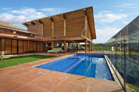Разнообразный дом в Бразилии