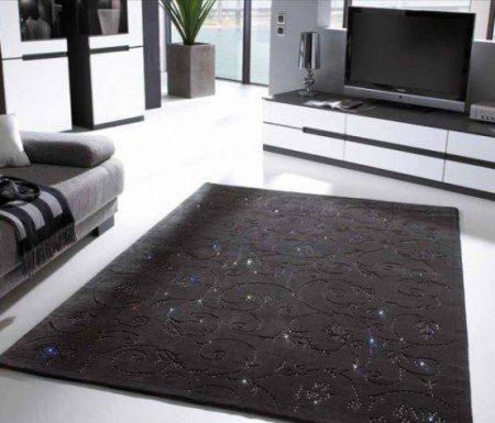 Шерстяные ковры с кристаллами Swarowski