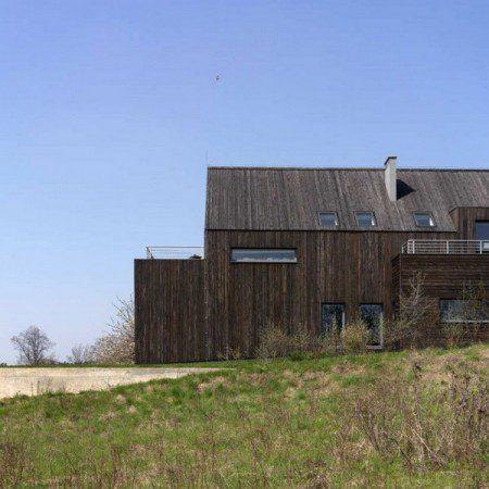 Традиционній дом в Польше
