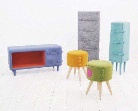 Творческая и уютная мебель