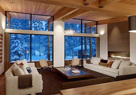 Зимняя мечта - дом в Калифорнии