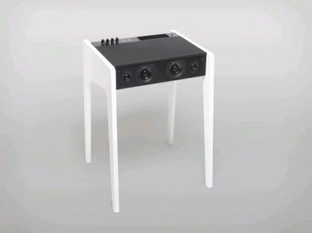 Компактный стол для ноутбука