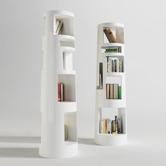 Необычная площадка для книг