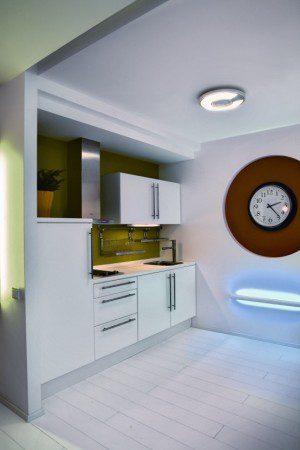 Современный интерьер небольшой квартиры
