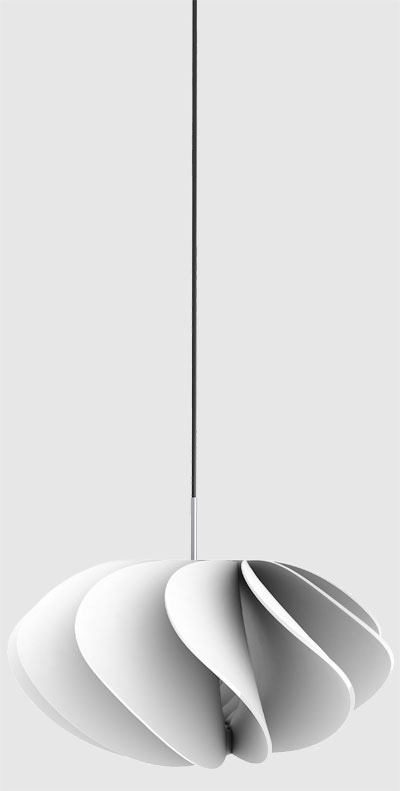 Современный, необычный светильник