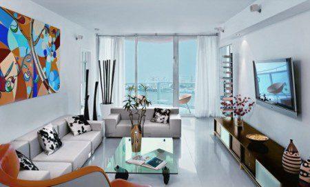Светлая квартира с прекрасным видом