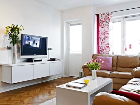 Уютная маленькая квартира