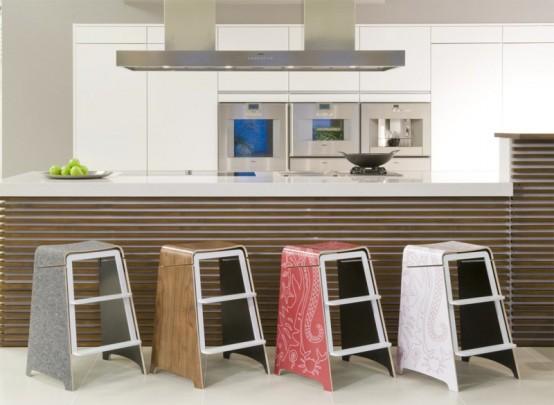 Замечательные кухонные стулья
