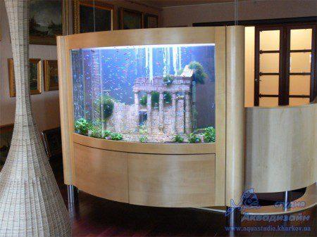 дизайн аквариума +своими руками