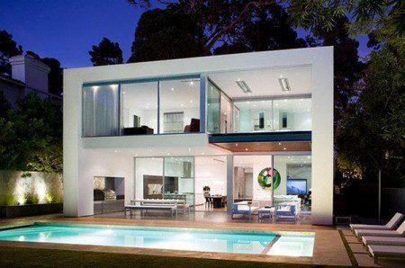 Энергетический современный дом