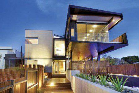Интересный и необычный дом в Мельбурне