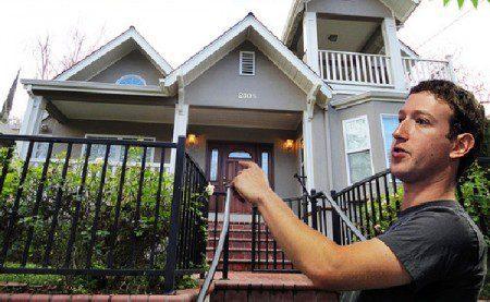 Новый, арендованный дом Марка Цукерберга в Калифорнии