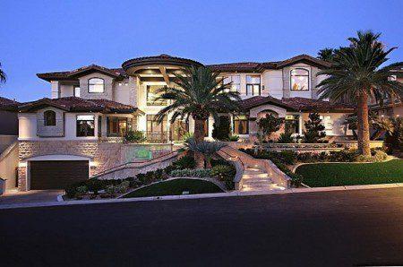 Потрясающий особняк в Лас-Вегасе