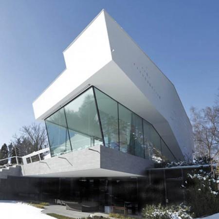 Разнообразный и яркий современный дом в Германии