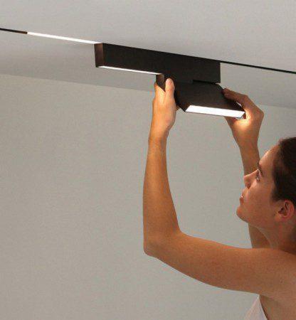 Стильная система освещения