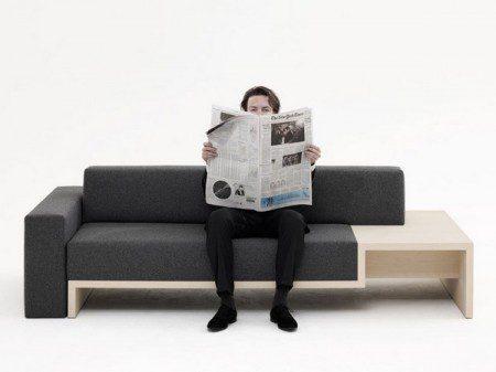 Стильный и практичный диван от Frederikа Roij?