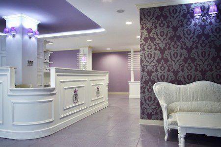 Стоматологический кабинет в стиле барокко