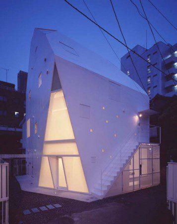 Удивительная архитектура в Токио