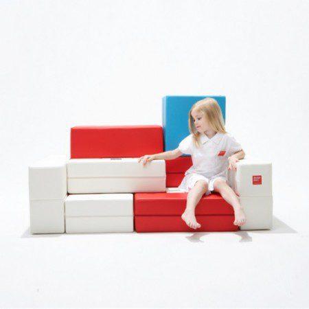Забавный диван для детей - собери сам