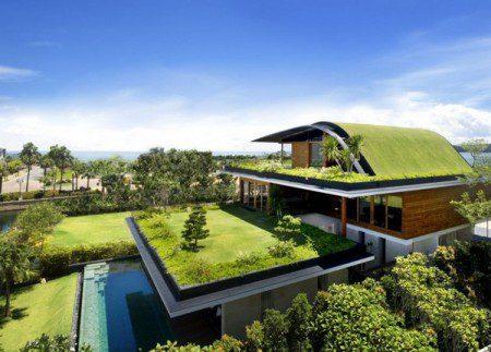 Дом и сад в одном целом