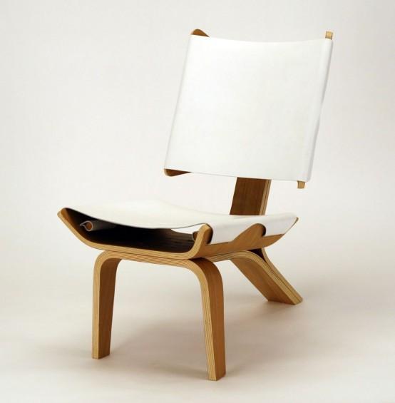 Эстетически-блестящий стул