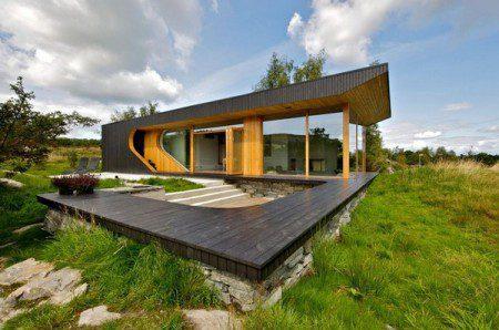 Интересный подход к жилой архитектуре в Норвегии